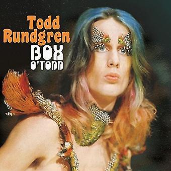 Todd Rundgren - importación de Estados Unidos Todd o ' caja [CD]