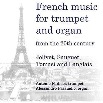 Antonio Faillaci - französische Musik für Trompete & Orgel aus dem 20. Jahrhundert [CD]-USA import