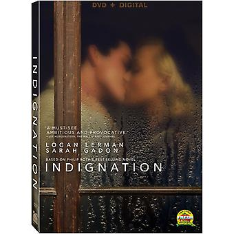 Indignation [DVD] USA import