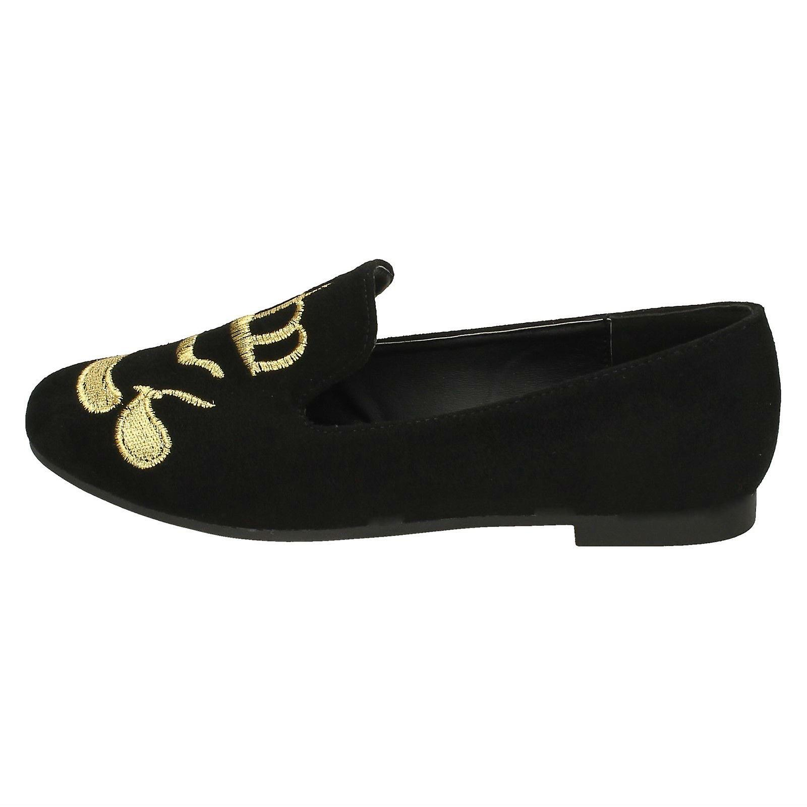 On Flat Cut Spot Ballerinas Ladies Slipper F80308 qUwHgc5