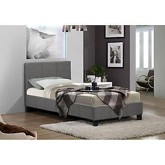 Birlea Berlin Fabric Single Bed Grey