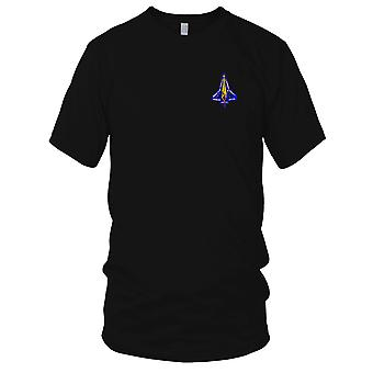 NASA - SP-142 NASA STS-107 Space Shuttle Discovery Mission To ISS Embroidered Patch - Mens T Shirt