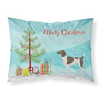 German Shorthaired Pointer Christmas Fabric Standard Pillowcase