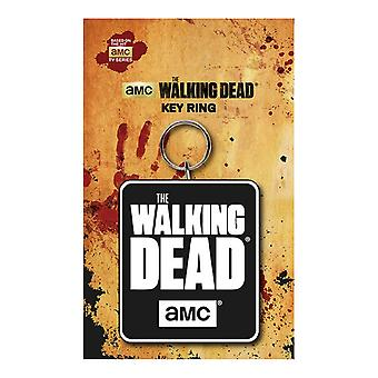 The Walking Dead Keyring Key Chain Logo new Official AMC Black