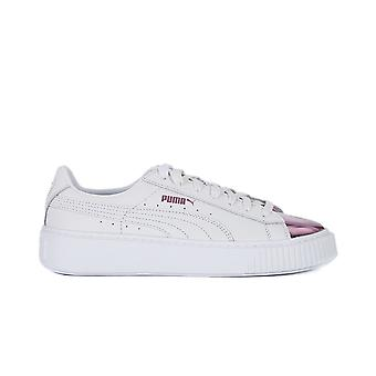 Puma Basket Platform Metallic 36616904   women shoes