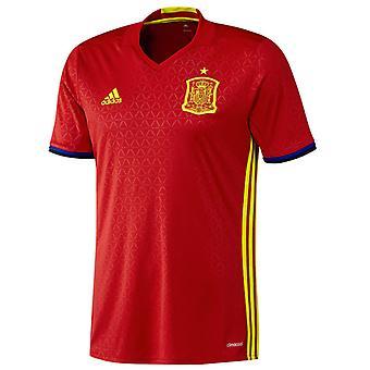 Koszulka piłkarska Adidas domu 2016-2017 Hiszpania