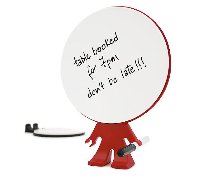 Red Big Head Memo Pad - Funky Reusable Notepad