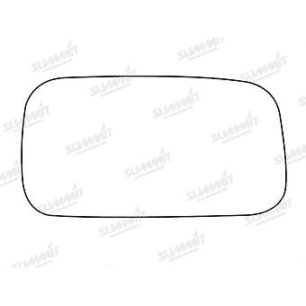 Right Stick-On Mirror Glass Easy to Fit For Nissan ALMERA Hatchback 95-00