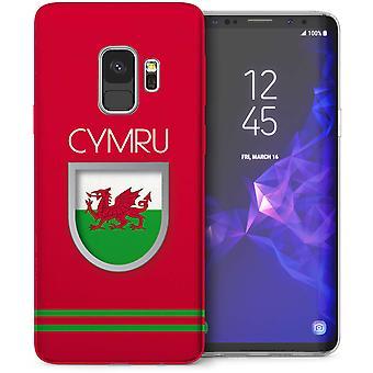 Samsung Galaxy S9 Wales World Cup TPU Gel Case