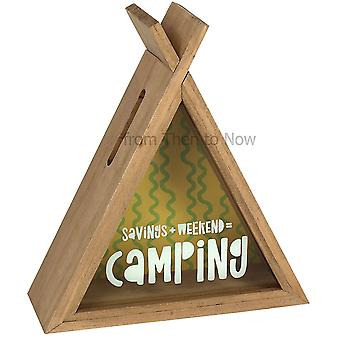 Something Different Camping Teepee Money Box