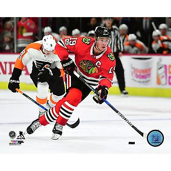 Jonathan Toews 2017-18 Aktion Fotodruck