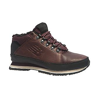 New balance mens real leather trekking shoes Brown
