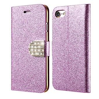 Glittery Wallet case for iPhone (7)