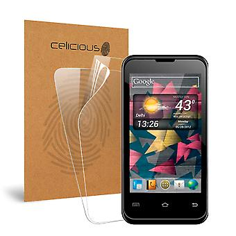 Celicious vivido invisibile Glossy HD Screen Protector Film compatibile con Micromax A87 Ninja 4.0 [Pack 2]