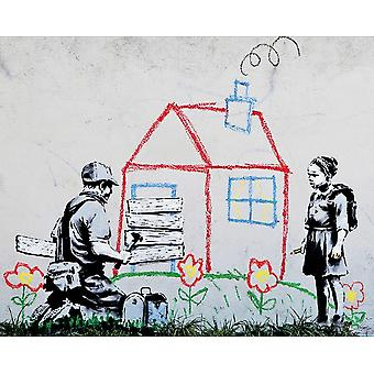 Banksy Playhouse Print Poster Poster Print