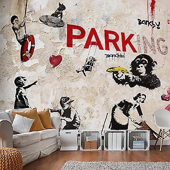 Wallpaper - [Banksy] Graffiti Collage