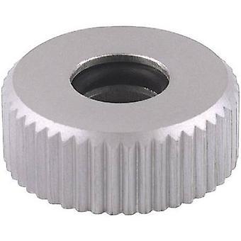 Knurled nut 6 mm Aluminium (anodised) Mentor 6601.0403 1 pc(s)
