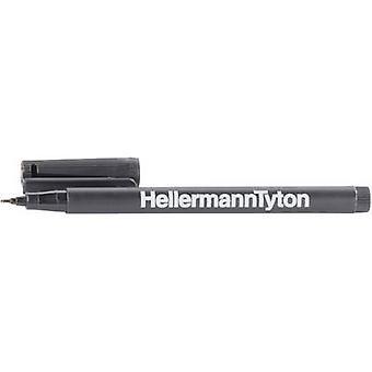HellermannTyton 500-50820 T82S-BK RiteOn Marker Pens