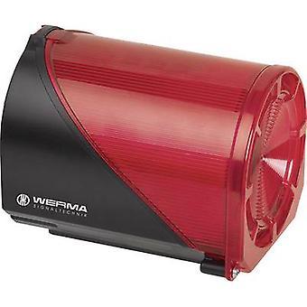 Combo sounder Werma Signaltechnik 444.110.75 Red 24 Vdc 114 dB
