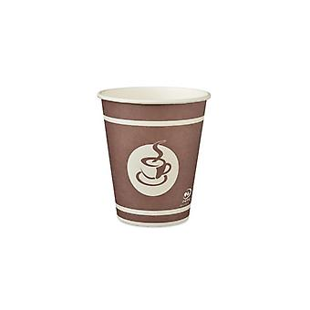 Paper cups STAPLES To-Go 28cl 80/FP