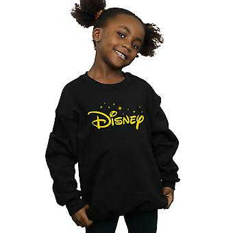 Disney Girls Logo Stars Sweatshirt