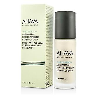 Ahava Time To Smooth Age Control Brightening And Renewal Serum - 30ml/1oz