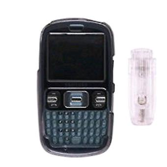 Wireless Solutions Snap-On Case with Ratcheting Belt Clip for Samsung SCH-R350 -