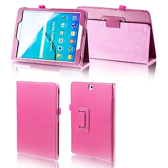 For Samsung Galaxy tab S4 10.5 T830 T835 pink faux leather case cover pouch case new