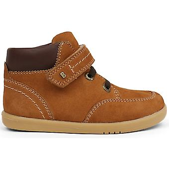 Bobux I-walk Boys Timber Boots Mustard