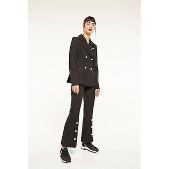 Endless Rose Tailored Trouser With Pearl Detailing