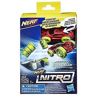 Nerf ニトロ BarrelSlam スタント セット