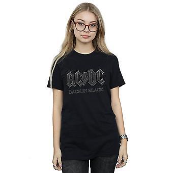 AC/DC féminines en copain noir Fit T-Shirt