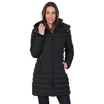 2dc39be61f692 المرأة اففور مزودة معطف مشمع طويلة مقنعين الحارة ومبطن