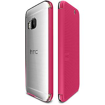 HTC punto vista hielo caja para HTC One M9 - Candy Floss color rosa - 99H 20129-00