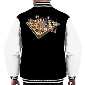 Ursprungliga Stormtrooper Chess Board mäns Varsity jacka