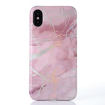Metallisk marmor - iPhone X / XS