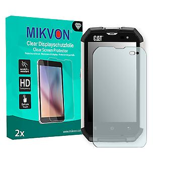 Cat B15Q Screen Protector - Mikvon Clear (Retail Package with accessories)