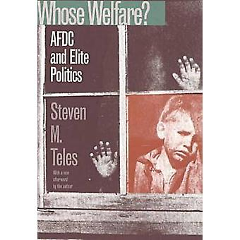 Whose Welfare? - AFDC and Elite Politics (New edition) by Steven Micha