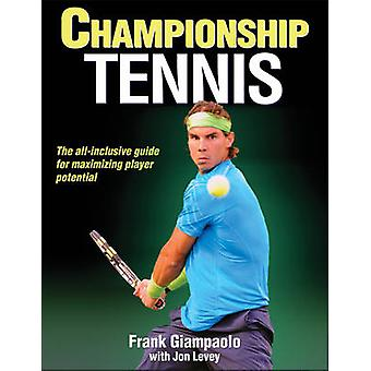 Championship Tennis by Frank Giampaolo - Jon Levey - 9781450424530 Bo