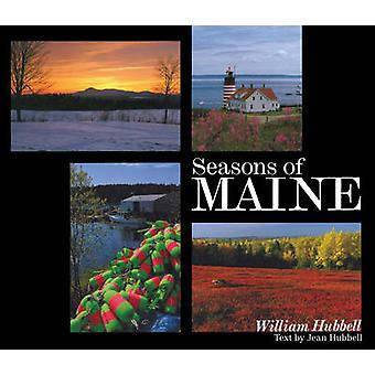 Seasons of Maine by William Hubbell - Jean Hubbell - 9781608934447 Bo