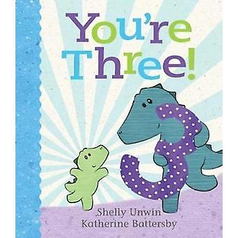 Vous êtes à trois! par Shelly Unwin - livre 9781760630089