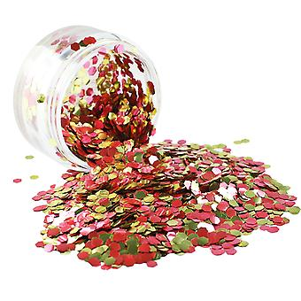 PaintGlow Biodegradable Cosmetic Glitter Rose Gold