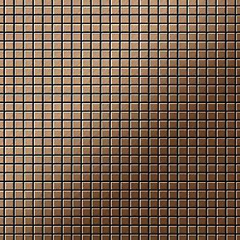 Mosaico de metal sólido Titanio ALLOY Glomesh-Ti-AB
