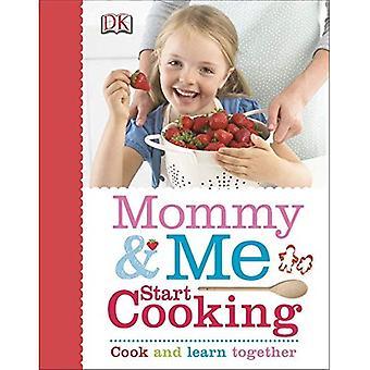 Mamá y yo empezar a cocinar