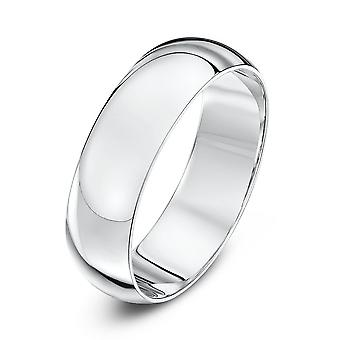 Star Wedding Rings Platinum Heavy D 6mm Wedding Ring