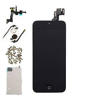 Stuff Certified ® iPhone 5C Pre-assembled Screen (Touchscreen + LCD + Parts) A + Quality - Black + Tools
