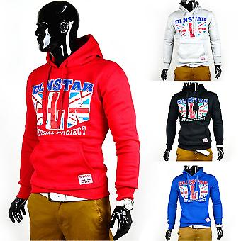 NEW Mens Sweatshirt Union Jack Hoodie English Flag Hoodie Sweatshirt England