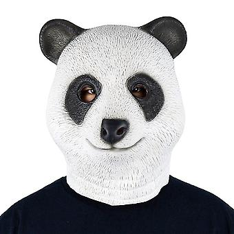 Panda bear mask mask Panda bear mask rubber mask adult