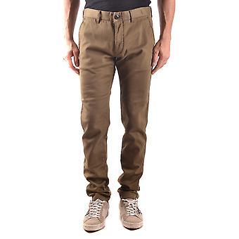 Stone Island Green Cotton Pants