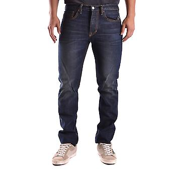 Ralph Lauren Blue Cotton Jeans